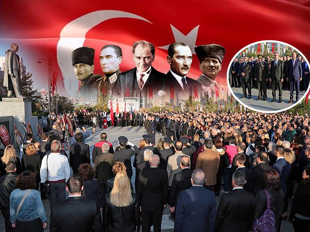 Ataşehirlilerin Atatürk Sevgisi Meydanı Doldurdu