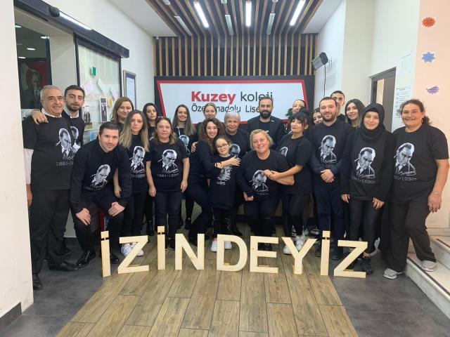 Kuzey Koleji Kurucusu Eğitimci-Yazar Ömer Şahan'dan 10 Kasım Mesajı