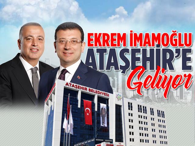 Ekrem İmamoğlu Ortak Masa'da Ataşehir'in Konuğu oluyor