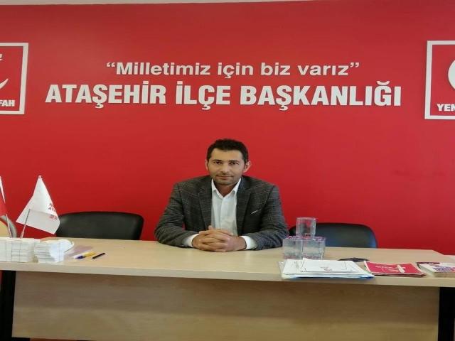Yeniden Refah Partisi Ataşehir İlçe Başkanlığı'ndan 24 Kasım Mesajı