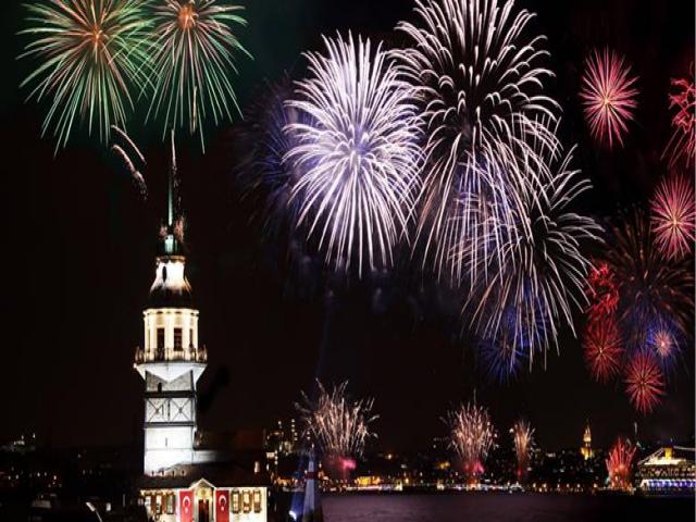 İstanbul 'da Yeni Yıl Coşkusu