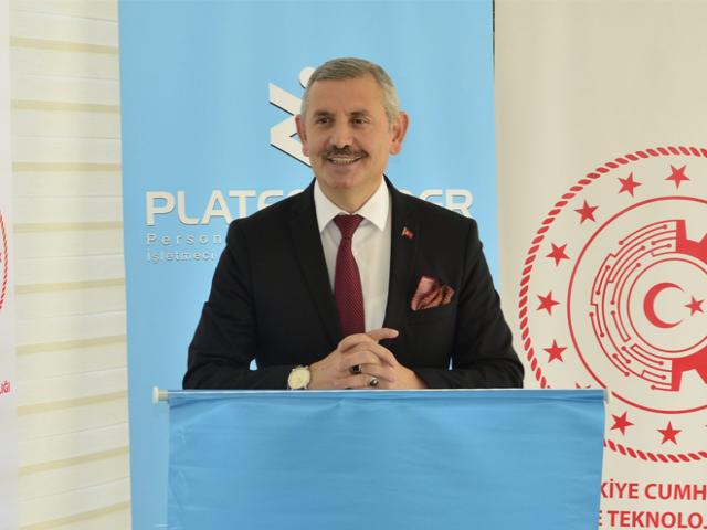 İstanbul Teknoloji ve Sanayi İl Müdürü Ümit Ünal, Ataşehir'de Sanayinin Dijitalleşmesini Anlatacak
