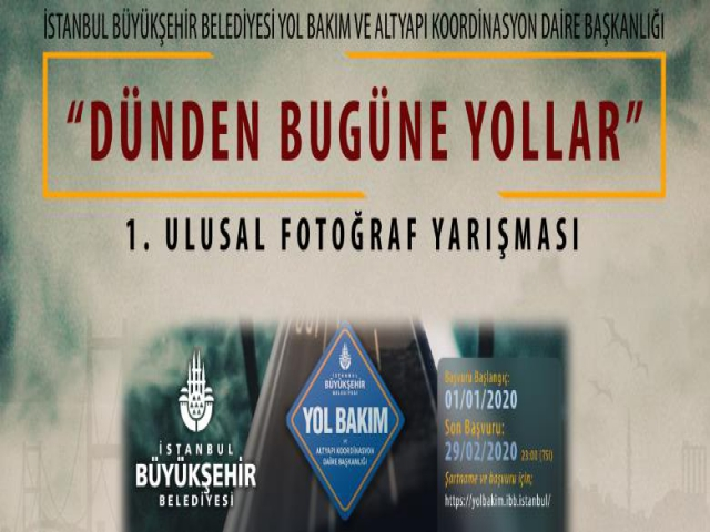 İstanbul 'un Yolları Karelerde Yarışacak