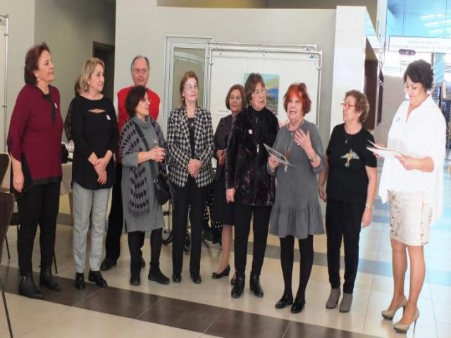 Kadıköy Sanatçılar Derneği 'Yaşamdan Renkler' Sergisi Kozzy'de açıldı