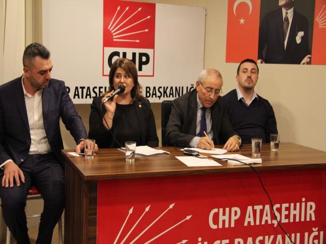 Yarbay Ali Tatar'ın Eşi Nilüfer Tatar CHP'den İlçe Başkan Adaylığını Açıkladı