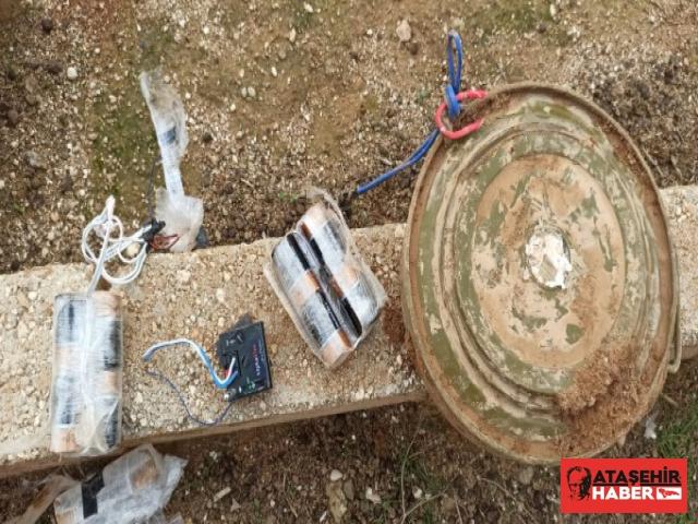 Anti Tank Mayınından Oluşan EYP Etkisiz Hale Getirildi