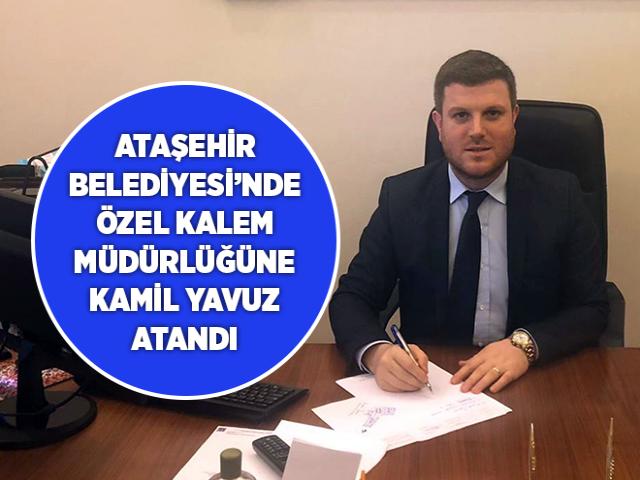 Ataşehir Belediyesi Özel Kalem Müdürlüğüne o isim atandı