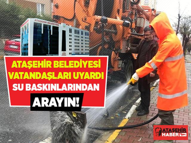 Ataşehir Belediyesi'nden önemli açıklama