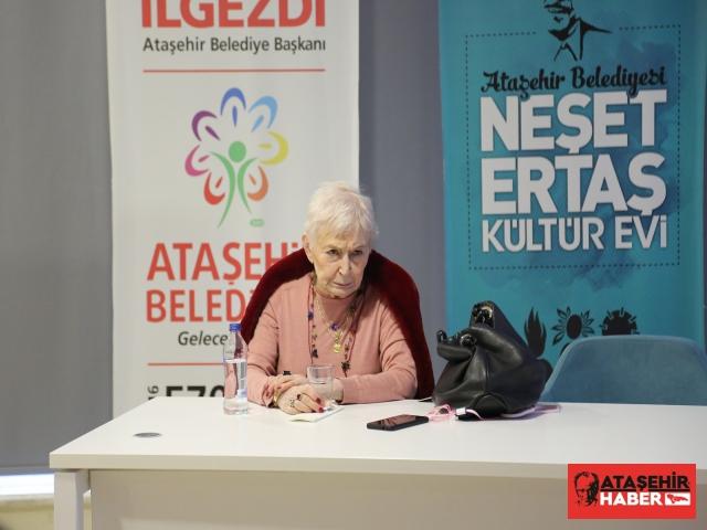 Ataşehir Pazar Sohbetlerinin bu ayki konuğu Pınar Kür'dü