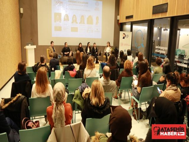 Ataşehirli kadın girişimciler başarı hikayelerini girişimci adaylarına anlattılar