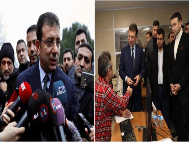"""Başkan İmamoğlu: """"Bu Millet Kanal, Yat, Kat, Saray İstemiyor; İş, Aş, Ekmek, Eğitim İstiyor"""""""