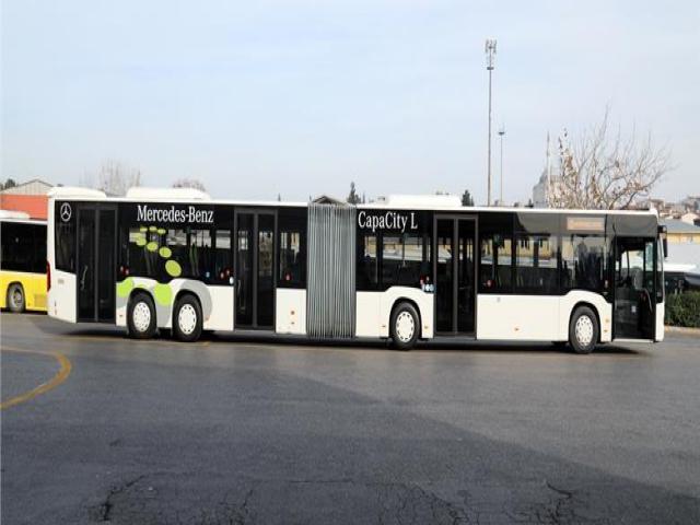 İBB, Metrobüs'teki yeni aracı CAPACITY teste başladı