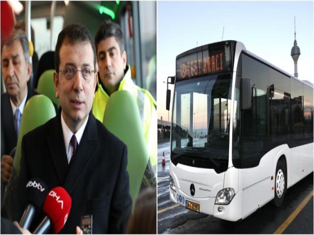 """İkinci Kez Metrobüs Aracı Test Eden İmamoğlu: """"Asıl Çözüm Metro"""""""