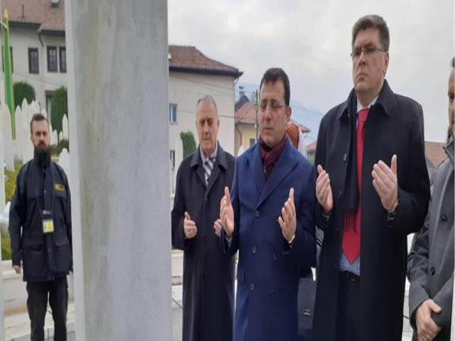 İmamoğlu'ndan Atatürk Örnekli İzzet Bigoviç örneği!