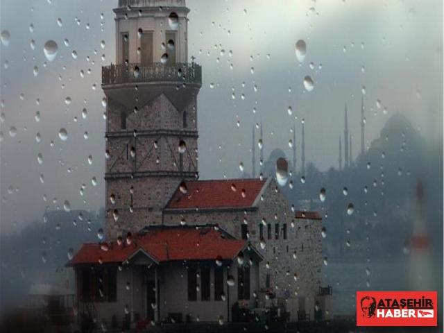 İstanbul'da Fırtına Ve Şiddetli Yağış Etkili Olmaya Devam Ediyor
