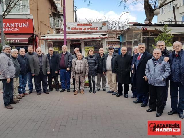 Küçükbakkalköy'ün spor alanı ve diğer sorunları için ilk toplantılarını gerçekleştirdiler