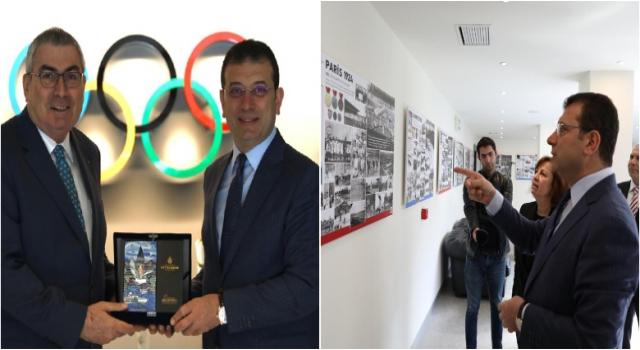 """İmamoğlu'ndan """"İstanbul Olimpiyatı"""" Değerlendirmesi: """"Tek Başına Tesisle Olmaz. Olimpiyat Ruhunu Aşılamamız Lazım"""""""
