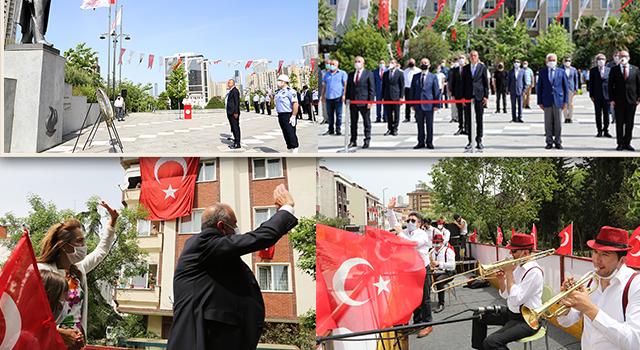 Ataşehir'de 19 Mayıs gezici etkinliklerle kutlandı
