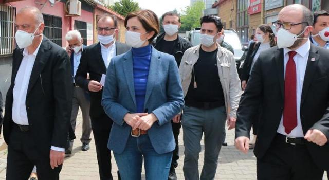 İl Başkanı Kaftancıoğlu, Ataşehir'de çalışmaları inceledi