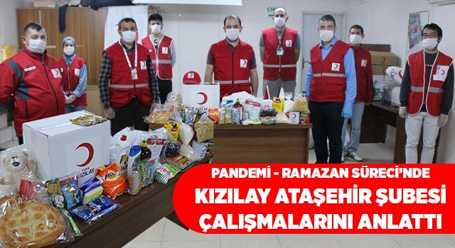 Türk Kızılayı Ataşehir Şubesi Ramazan ve Pandemi Sürecinde Yaptıklarını Tanıttı