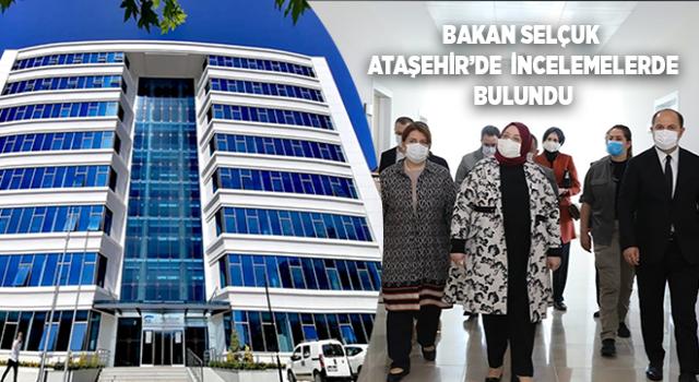 Bakan Selçuk, Ataşehir SGK ve SHM Binası'nda İncelemelerde Bulundu