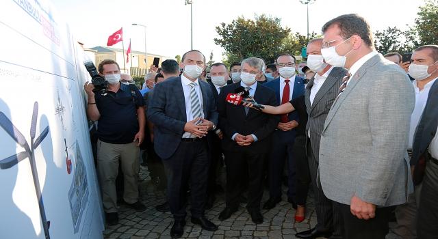 Ataşehir'de deprem parkı açıldı