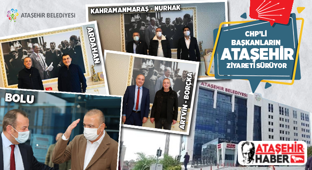 CHP'li Belediye Başkanları Ataşehir'i ziyaret etmeye devam ediyor