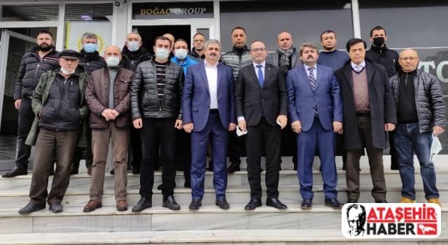 CHP Ataşehir'den İSTKADER'e Taziye ve Hayırlı Olsun Ziyareti