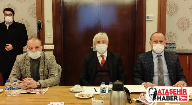 MHP İstanbul İl Başkanı Birol Gür Ataşehir'deydi