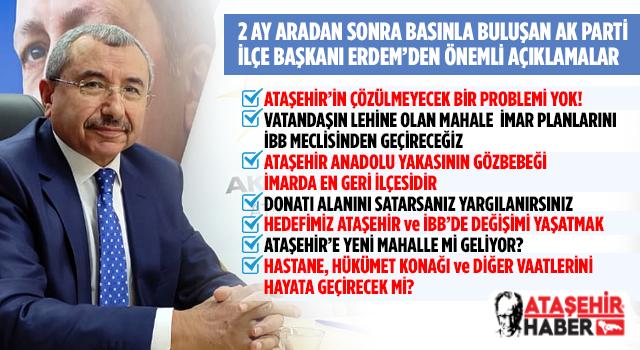 AK Parti İlçe Başkanı İsmail Erdem, Bölge Basın Mensuplarını Ağırladı