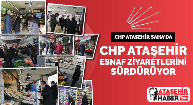 CHP Ataşehir, Esnaf buluşmalarını sürdürüyor