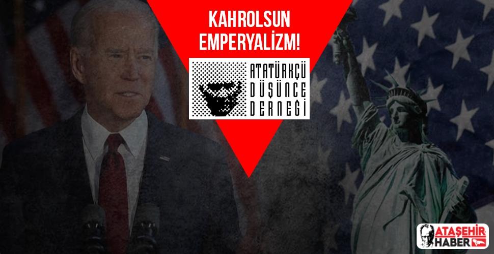 ADD Ataşehir Şubesi: Kahrolsun Emperyalizm!