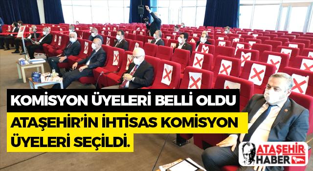 Ataşehir Belediyesi İhtisas Komisyon Üyeleri Belli Oldu