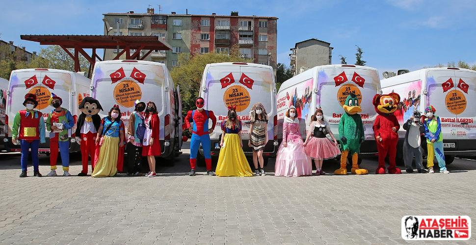 Başkan İlgezdi'nin katılımıyla 23 Nisan Ataşehir'de çeşitli etkinliklerle kutlandı