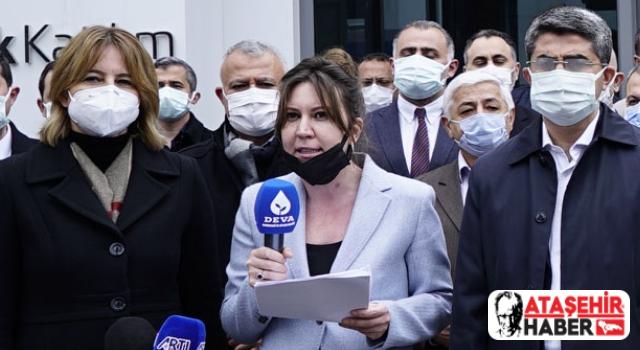 DEVA Partisi Ataşehir'de Kanal İstanbul Projesi'ne İtiraz Etti!