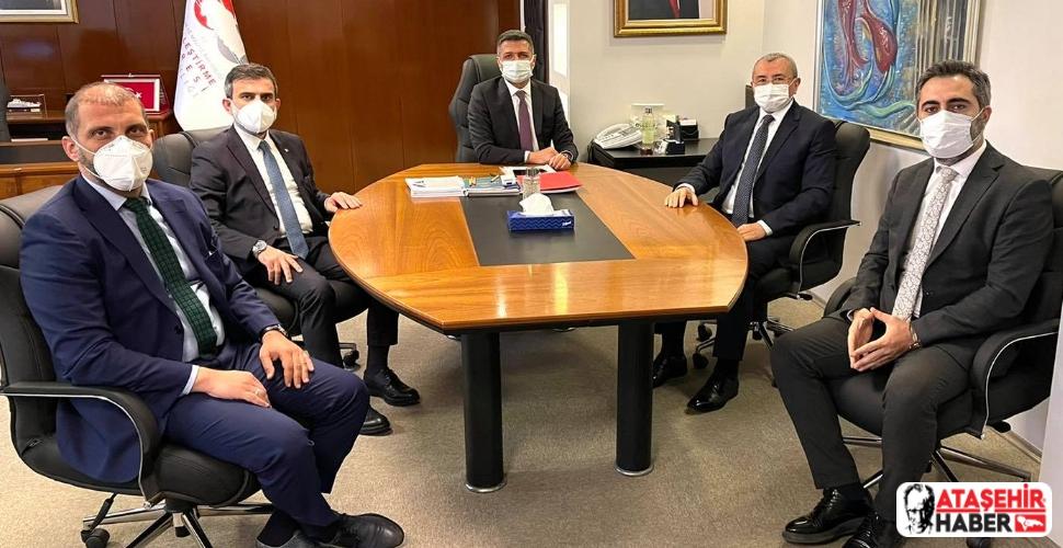 İsmail Erdem ve Ekibi, Hükümet Konağı'na Yer Tahsisi İçin Ankara'da