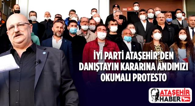 İYİ Parti Ataşehir'den Andımız Protestosu
