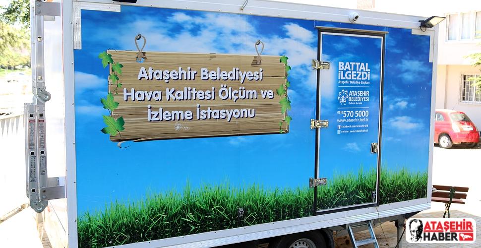 Sokağa Çıkma Yasaklarının Etkisiyle Ataşehir'in hava kalitesi arttı!