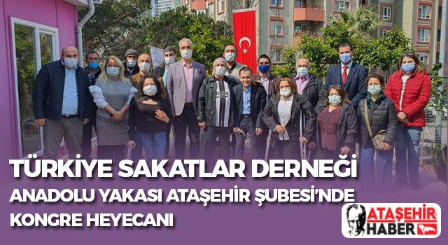 Türkiye Sakatlar Derneği Anadolu Yakası Ataşehir Şubesi'nin Yeni Yönetimi Belli Oldu