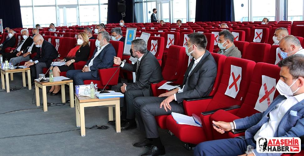 Ataşehir Belediyesi'nin 2020 Mali Yılı Kesin Hesabı oy çokluğuyla kabul edildi