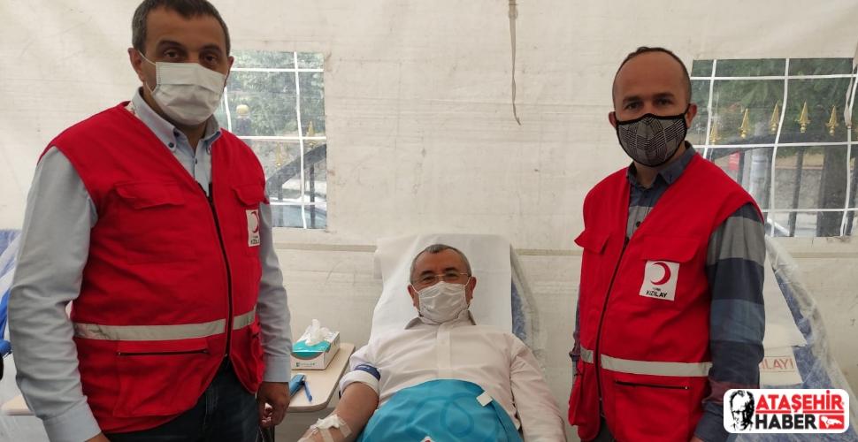 Ataşehir'de 3 günde 560 ünite kan toplandı