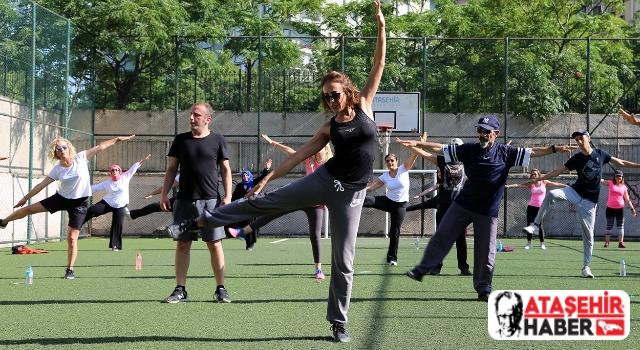 Ataşehir'in park sporları yeniden başlıyor