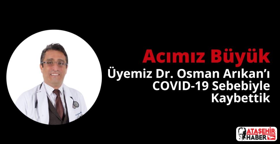 İstanbul Tabipler Odası Osman Arıkan İçin Taziye Mesajı Yayınladı
