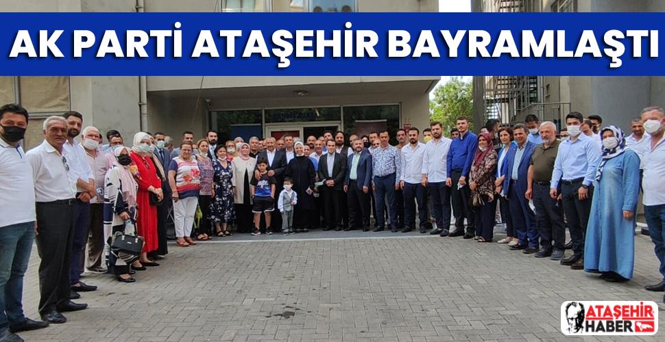 AK Parti Ataşehir ailesi bayramlaştı