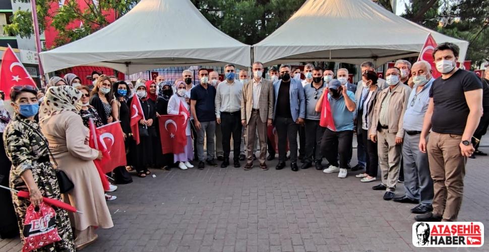 Ataşehir'de 15 Temmuz Sergisi Açıldı