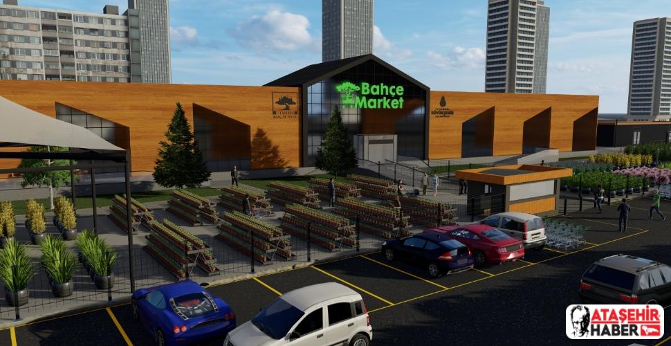 İBB, Mayıs ayında başlaması gereken Ataşehir'e yapacağı bahçe market projesi için yeni ihaleye çıkıyor