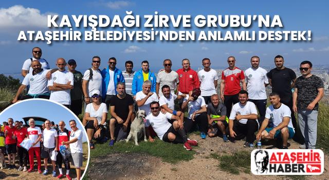 Kayışdağı Zirve Grubu'na Ataşehir Belediyesi'nden Anlamlı Destek!