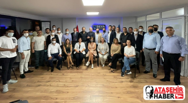 Deva Partisi'nin Deneyimli İl Başkanı Dr. Erhan Erol Ataşehir'deydi