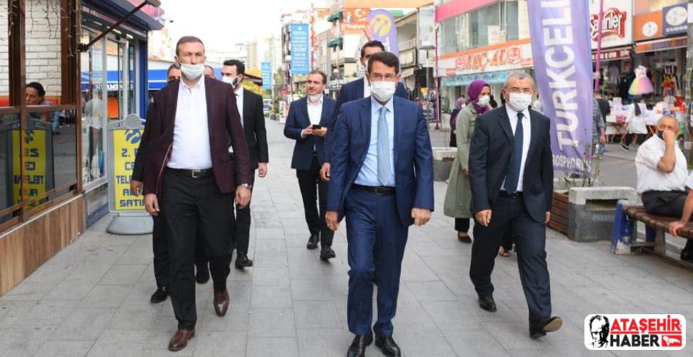 AK Parti Ataşehir'de sahaya inerek seçim startı verdi!