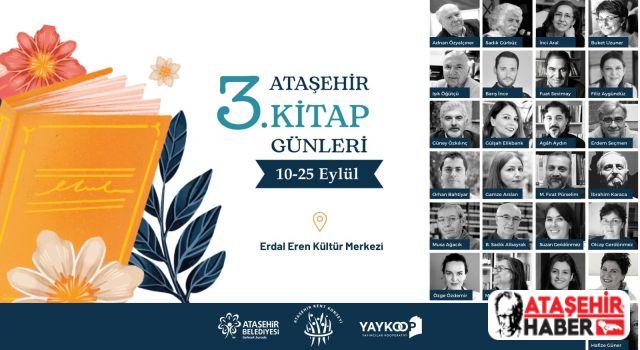Ataşehir'de Kitap Günleri Başlıyor